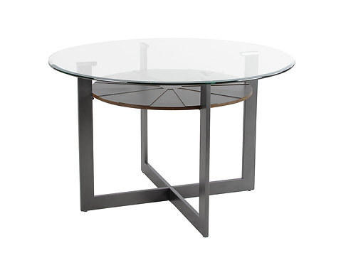 Olson Round Glass Top Table