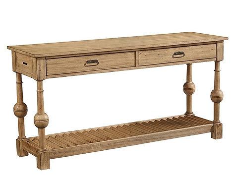 LOUVER CONSOLE TABLE