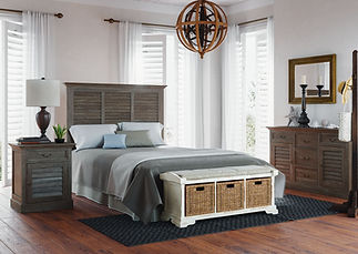 Bedroom furniture at Sutherlands Furniture Gallery in Broken Arrow, OK.