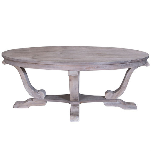Greystone Oval Cocktail Table