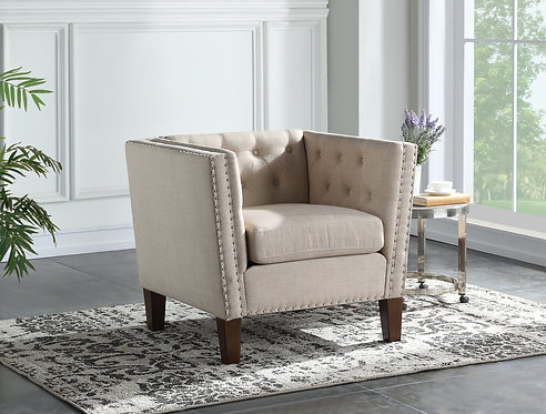 Campbell Accent Chair – Sand