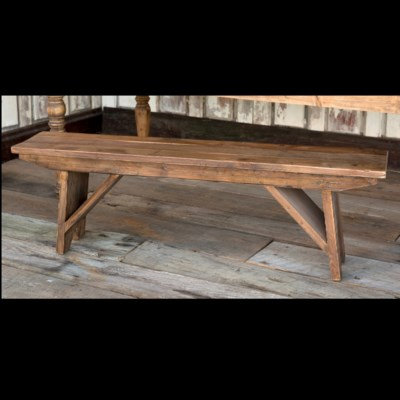 OLD PINE BENCH