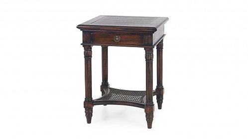 MONTEGO SQUARE END TABLE W/ DRAWER