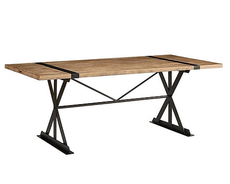 TRUSS & STRAP DINING TABLE
