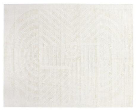 Oasis carved rug