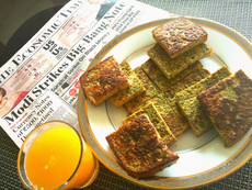 Eggs for Breakfast collection No.3: Savoury green french toast