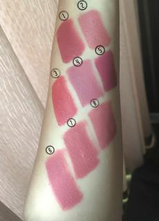 Top favorite shades of PINK liquid lipsticks
