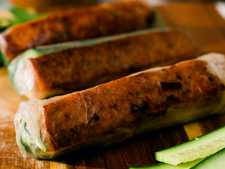 Lemongrass Tofu Spring Rolls