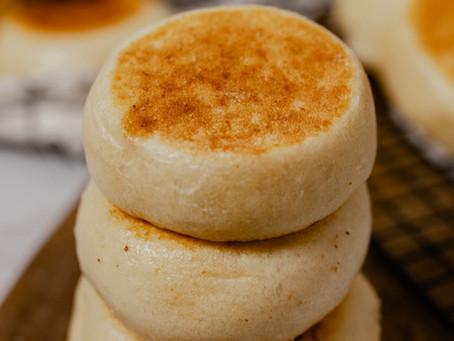 Stovetop English Muffins