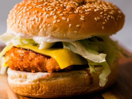 Tofu Katsu Burger