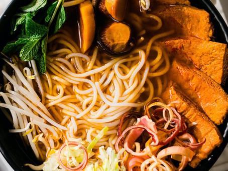 90-Minute Vegan Bun Bo Hue