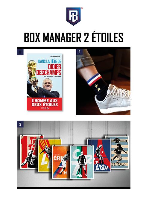 Manager 2 étoiles