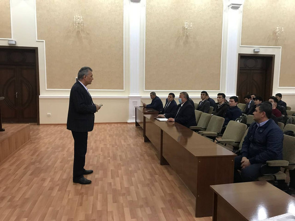 Final selection of candidates for the Institute of Veterinary Medicine in Samarkand