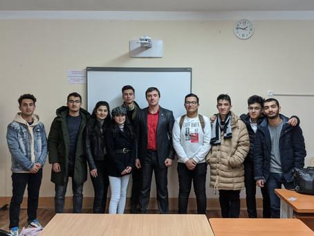 "Cooperation with International University of Tourism ""Silk Road"" in Samarkand, Uzbekistan"