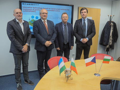 Establishment of Czech Bulgarian and Uzbek centres dedicated to the development of the partnership