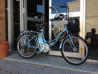 Urban Mover! Tried & Tested. A True Testament to a Trusty Treadlie.