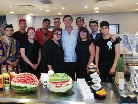 Uzbek and Turkmen cuisine days in Black Sea resorts in Bulgaria