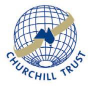 Churchill Trust Application