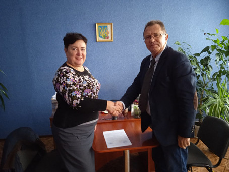 Cooperation with  the Vocational Higher School # 44, located in Mirgorod, Ukraine