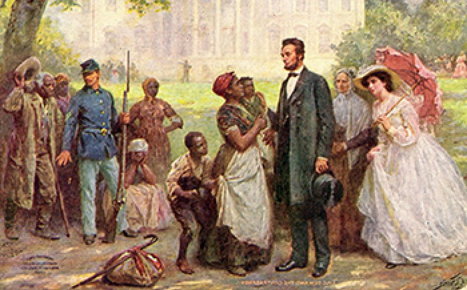 Lincoln Did Not Free Slaves!