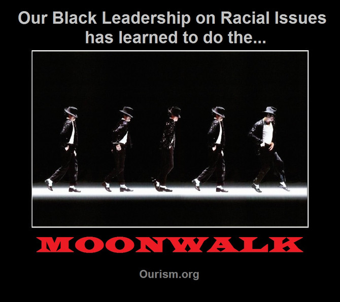 Black Leaders Doing The Moonwalk