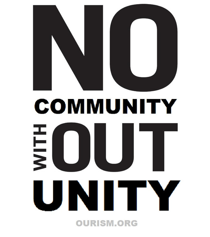 No Community Without Unity