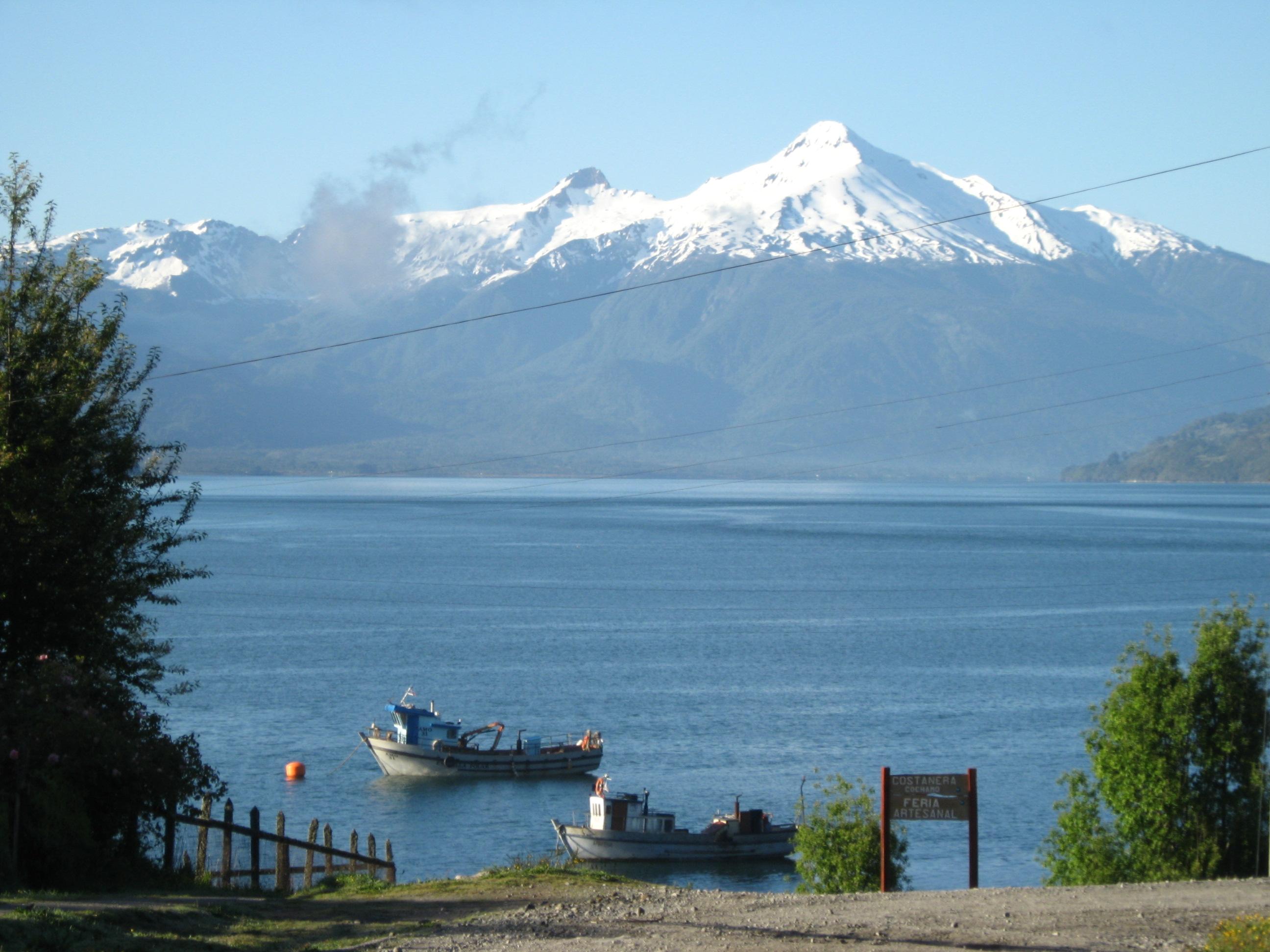 Kayak Outdoor Tourism Patagonia Chile