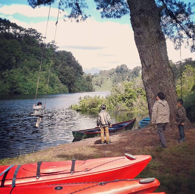 kayak de mar para toda la familia en Laguna la Poza