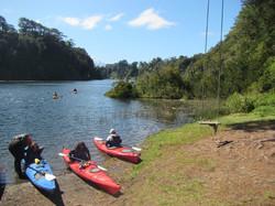 Kayak Laguna La Poza Chile