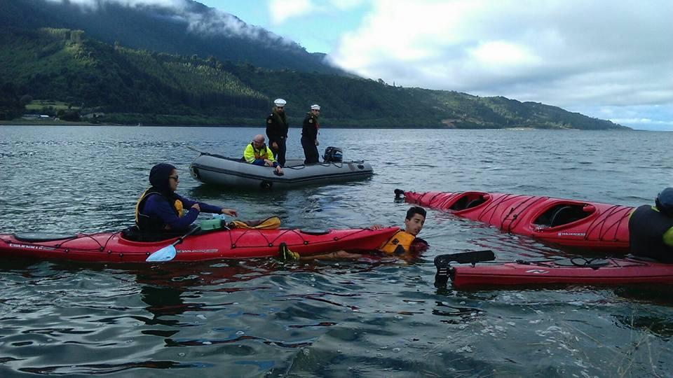 Rescate de Kayak Chile Rescue