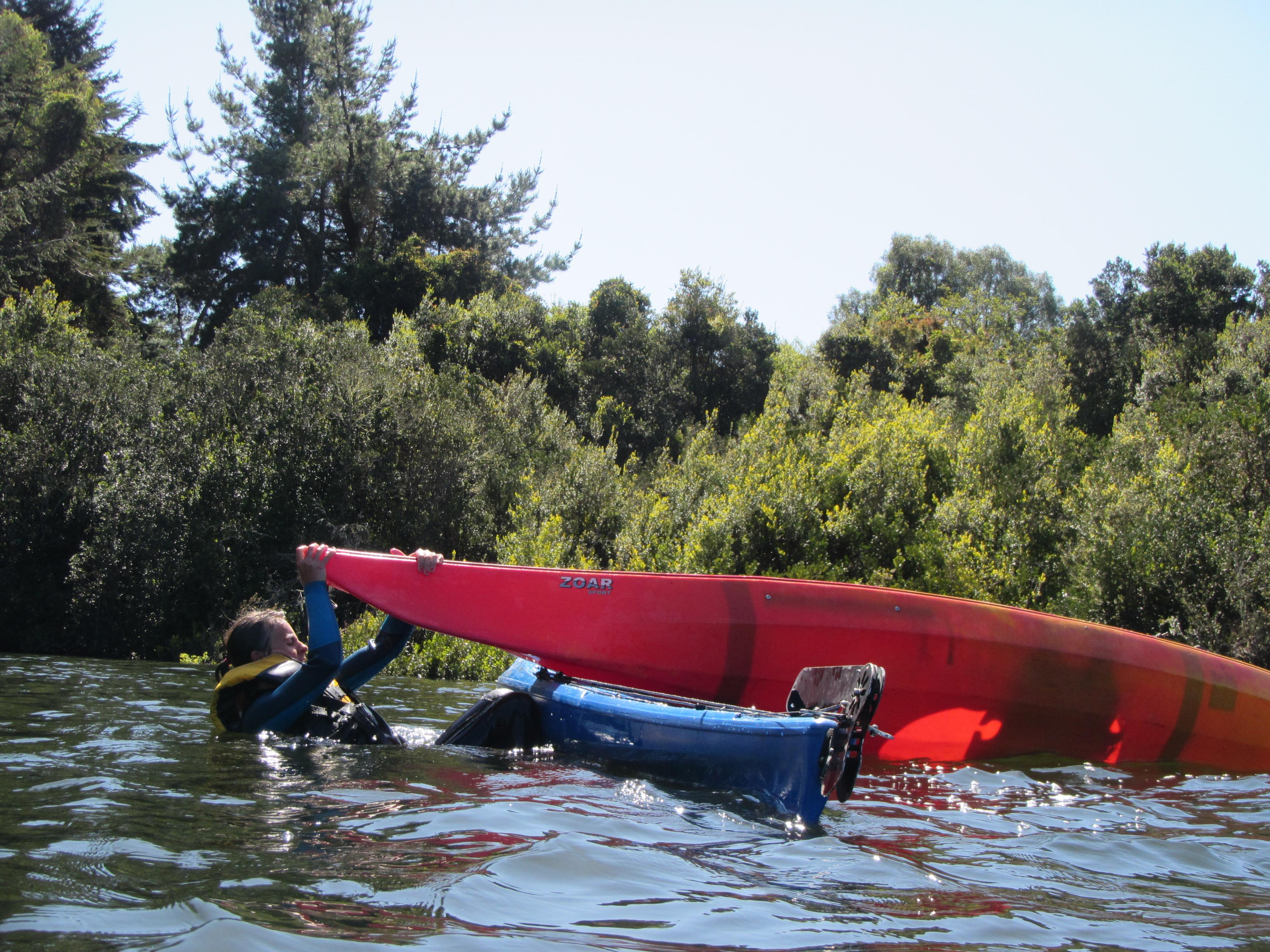 Curso kayak Puerto Varas Chile