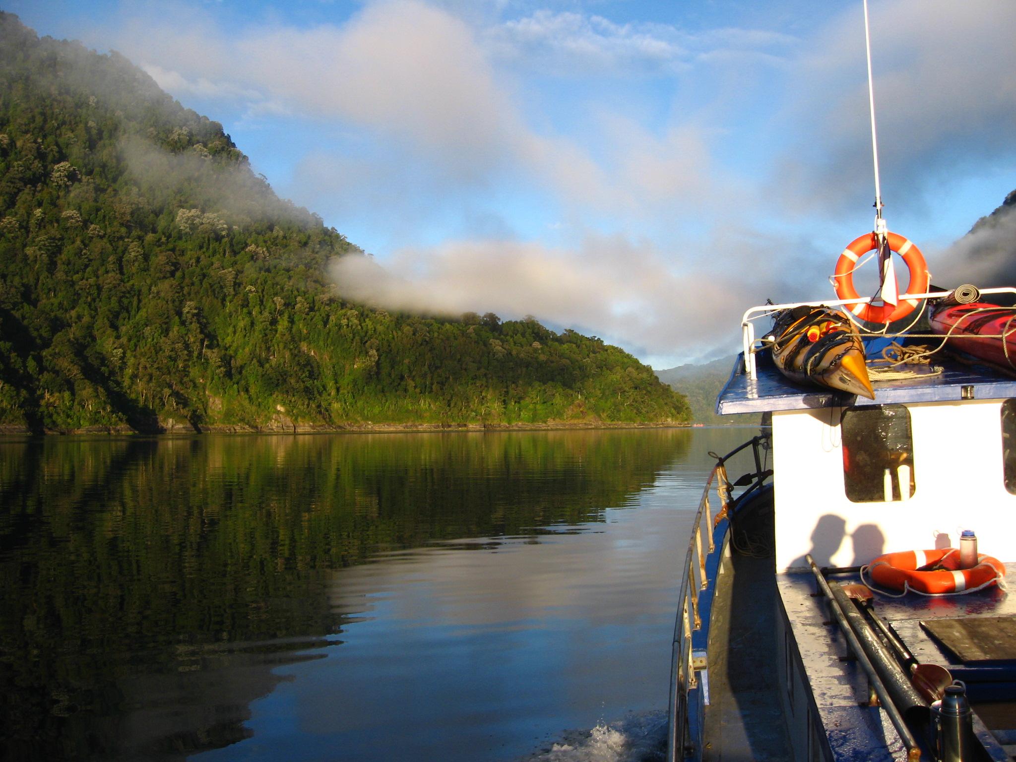 Kayak Parque Pumalin