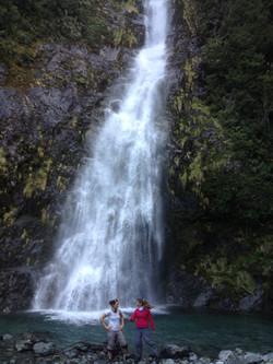 Cascada Parque Tagua Tagua Puelo