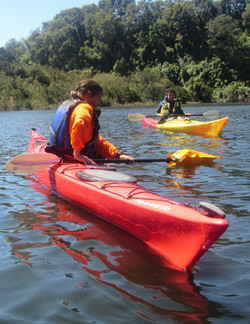 Curso kayak rescate Puerto Varas