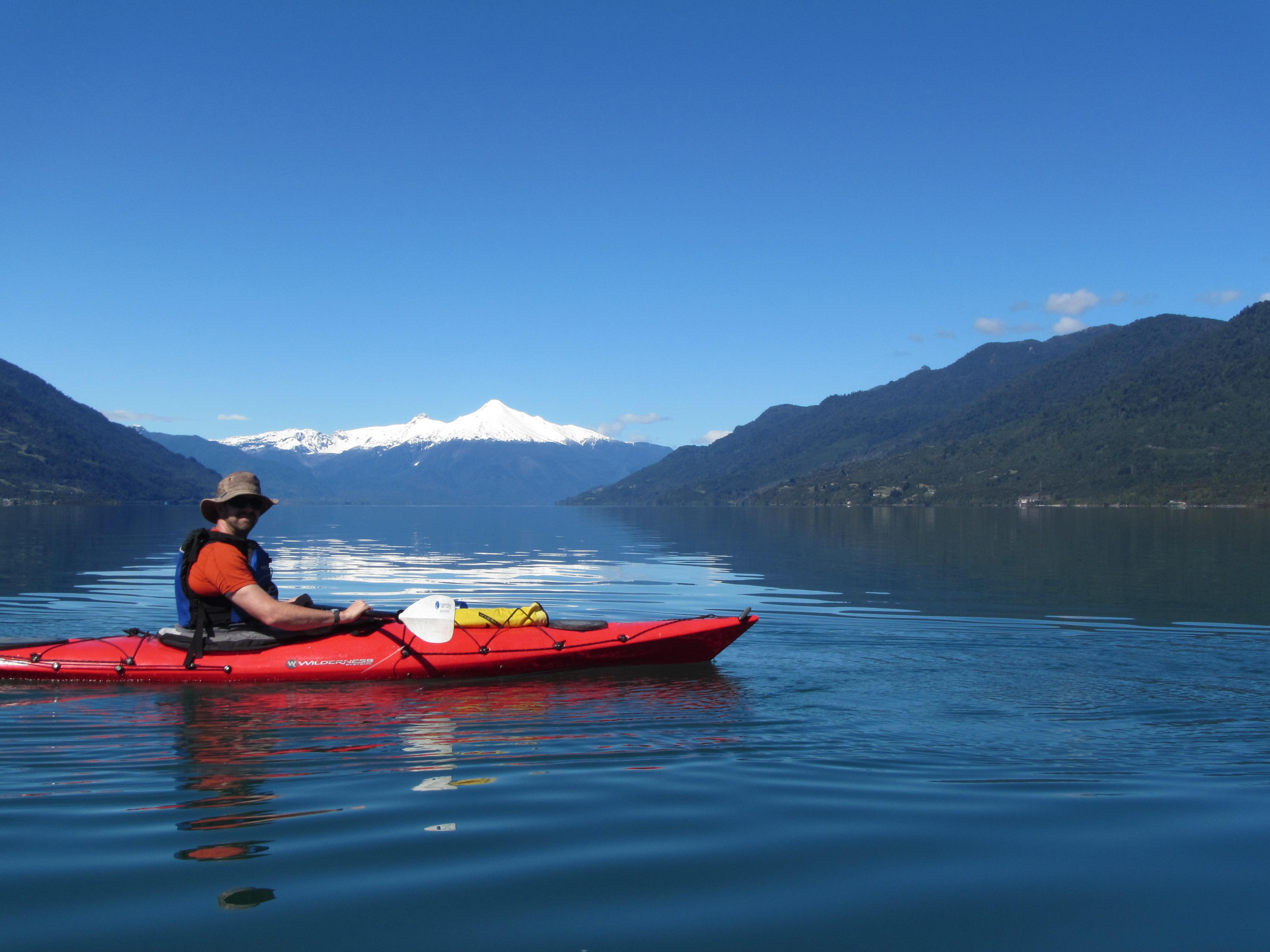 Kayak Reloncavi Volcan Yates