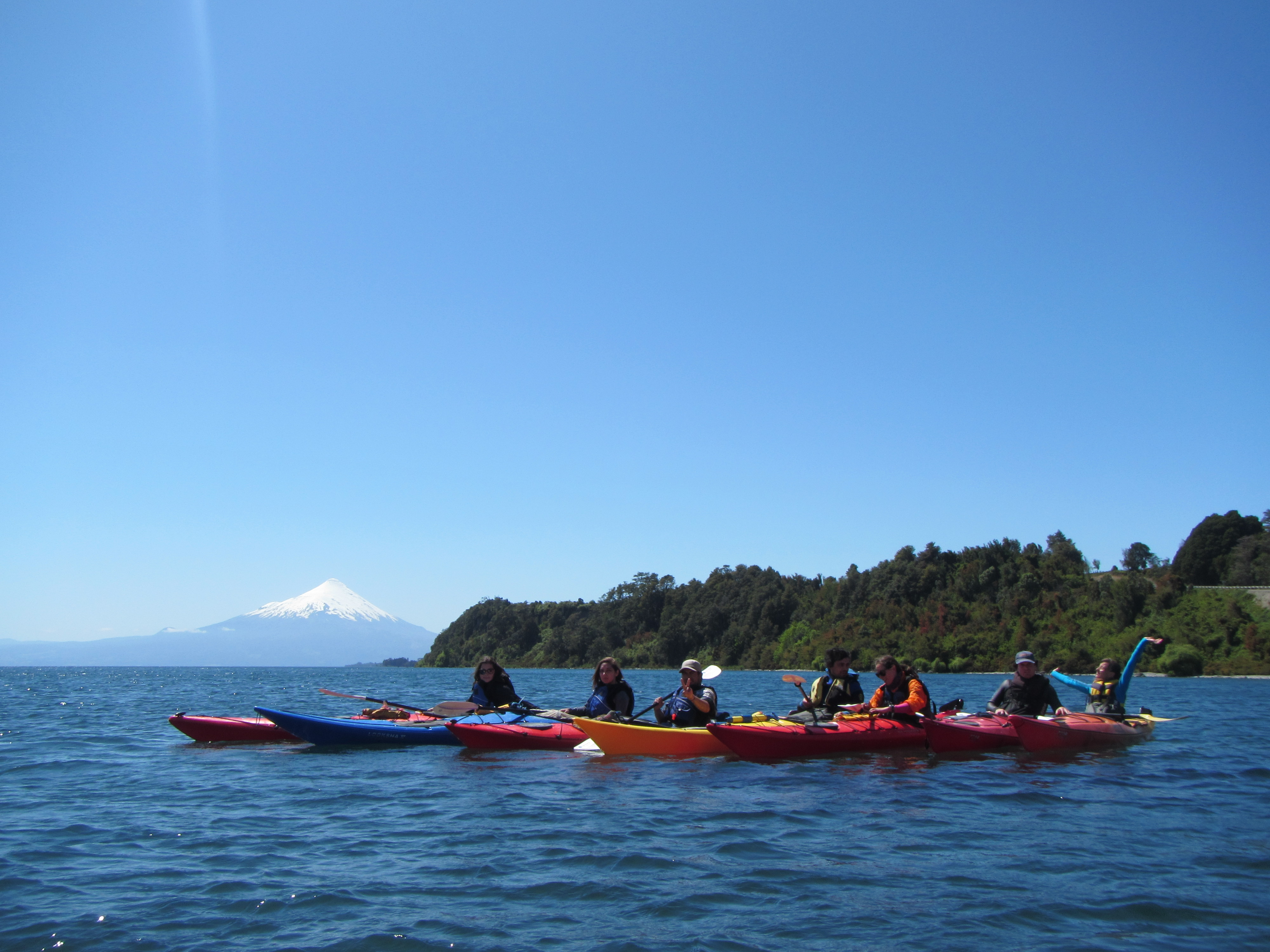 Kayak Lago Llanquihue Puerto Varas