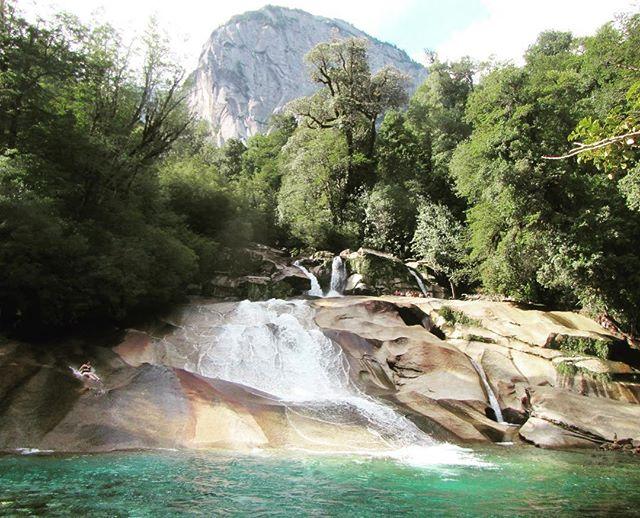 Los Toboganes, Valle de Cochamó