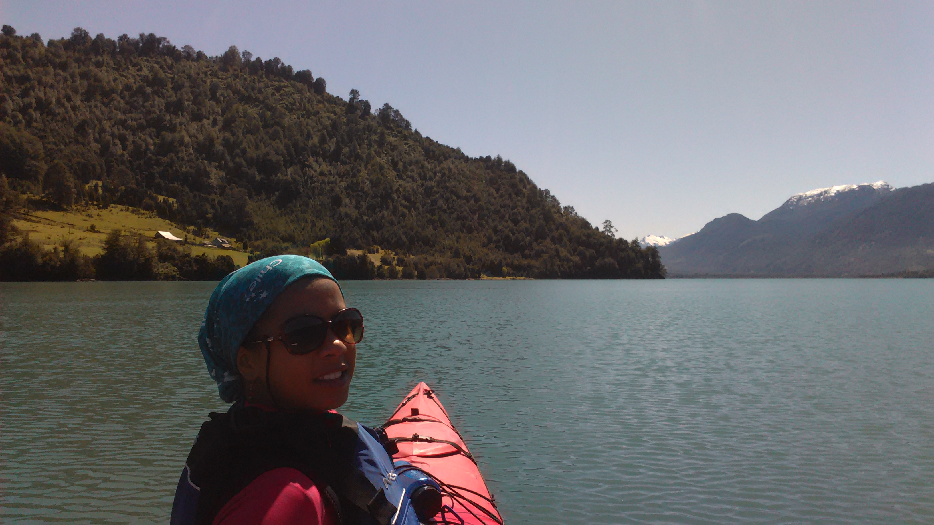 Kayak Reloncavi Fjord Cochamo