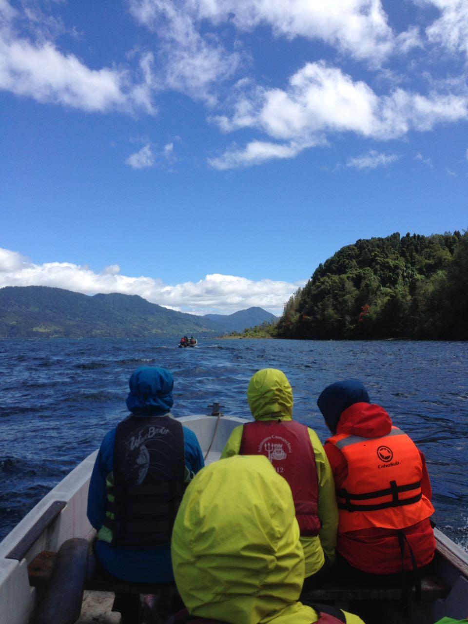 Navigacion lago Rupanco