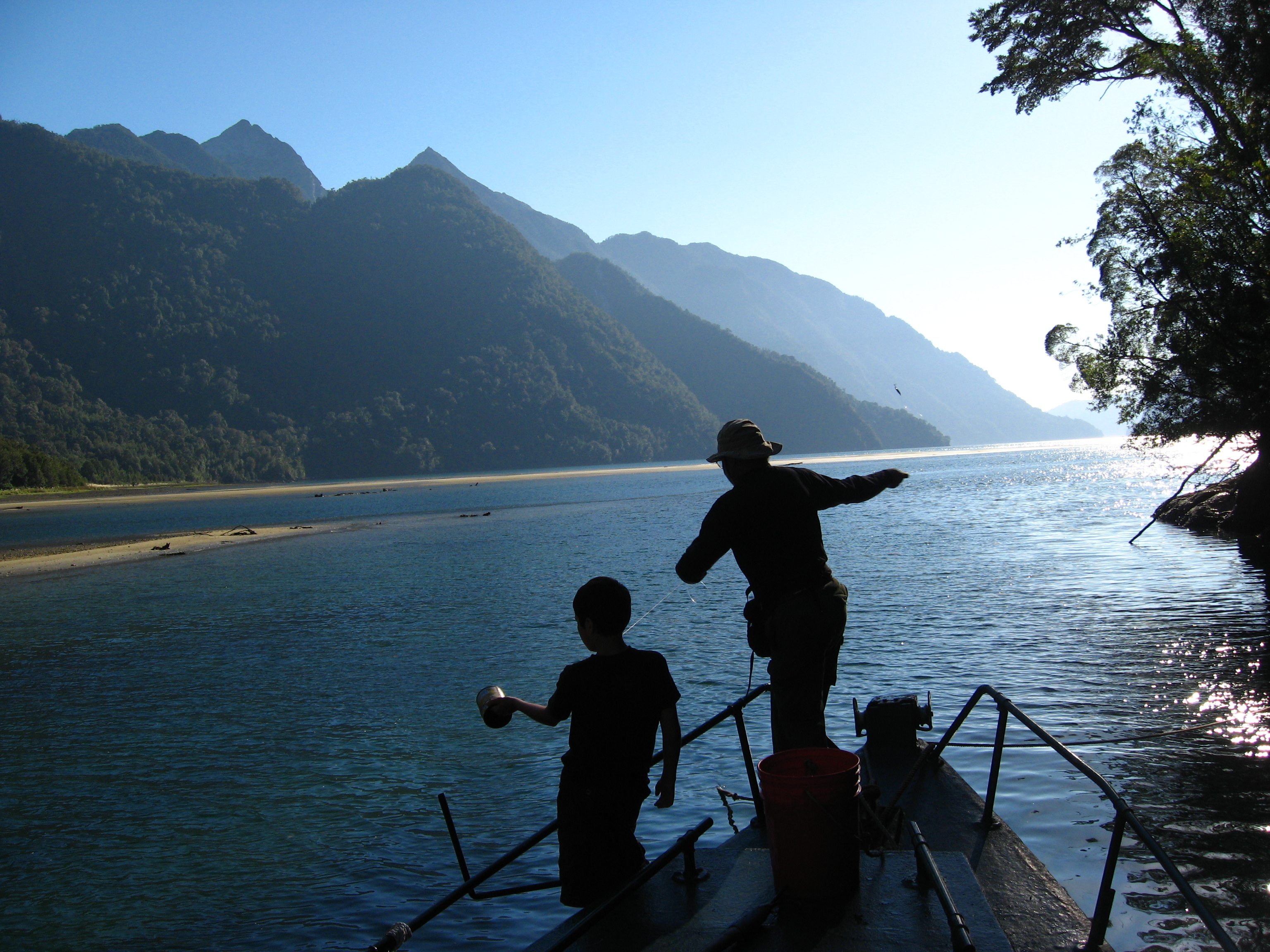 Kayak Pumalin Outdoor Tourism Patagonia Chile