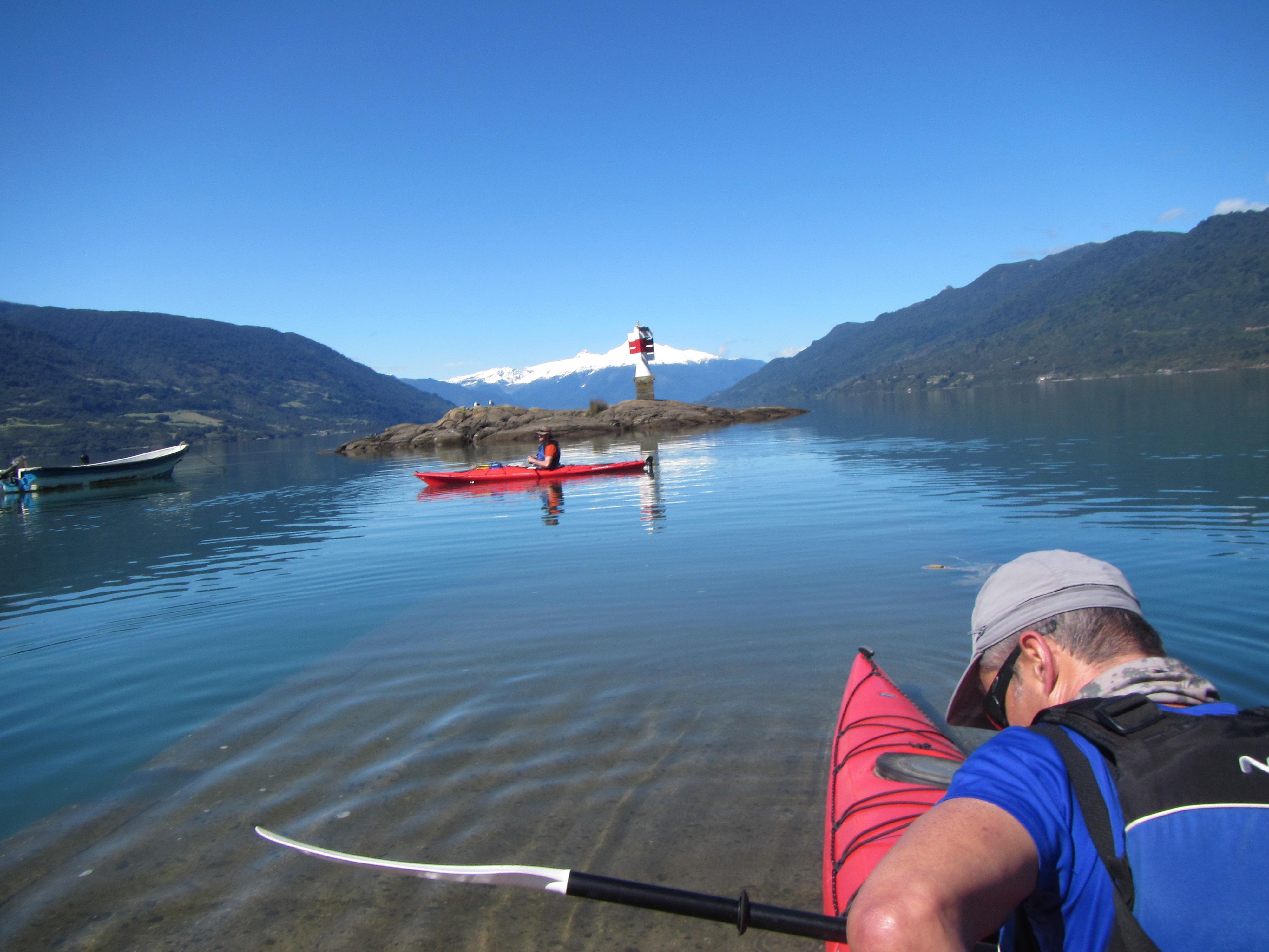 Kayak Reloncavi Cochamo