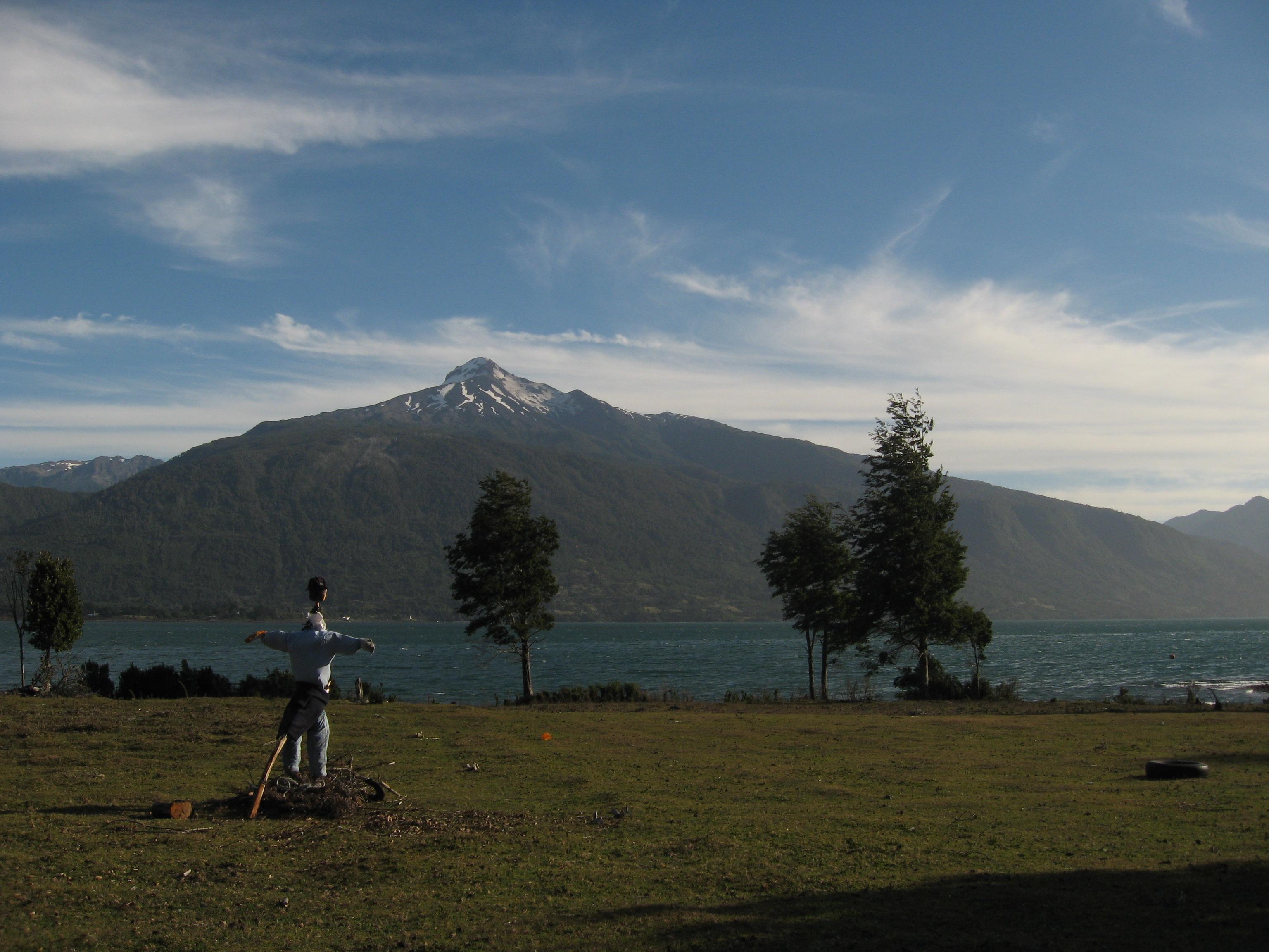 Volcan Yates Reloncavi Fjord