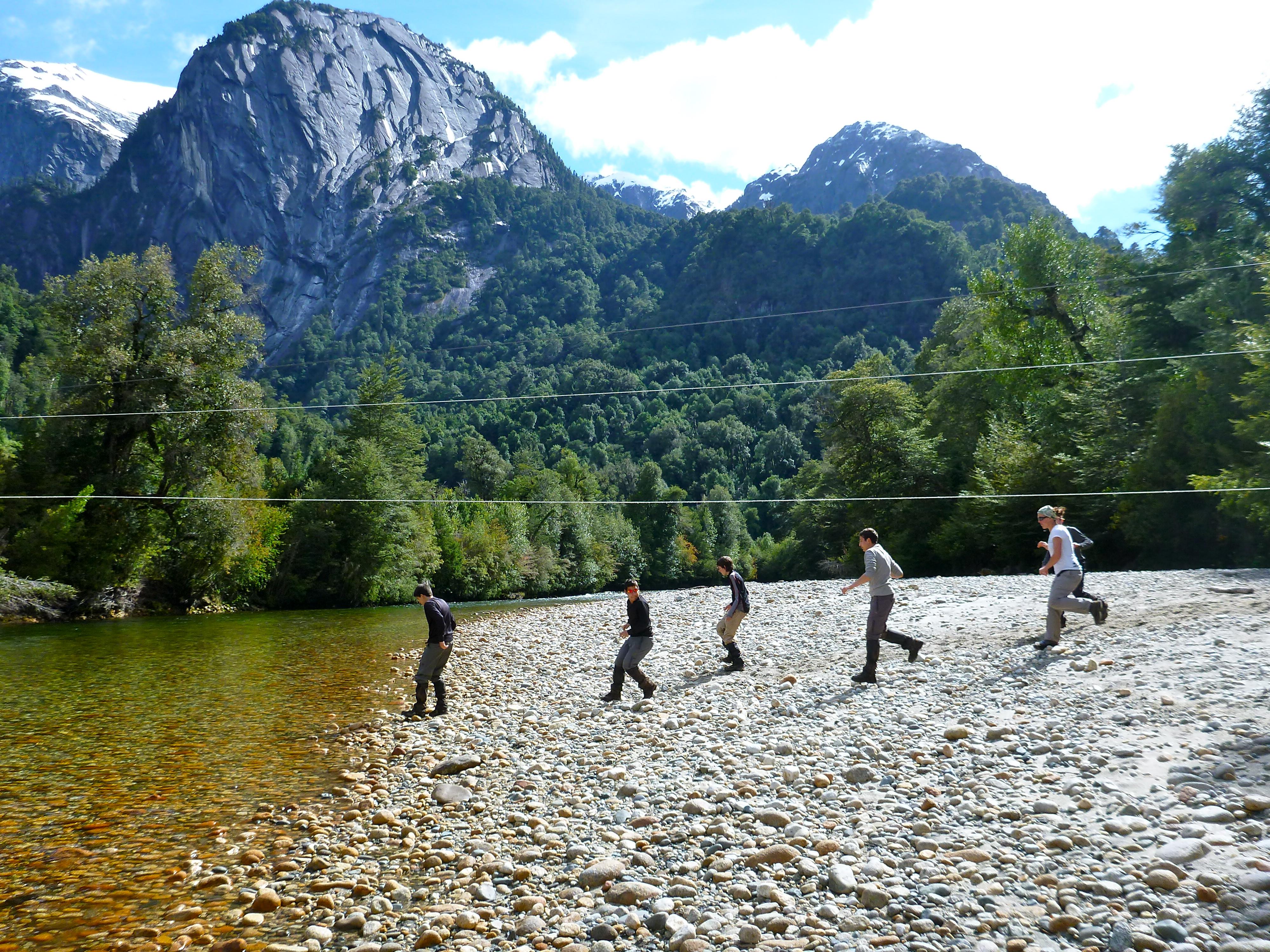 Trek Cochamo la junta Adventure Tourism Patagonia Chile
