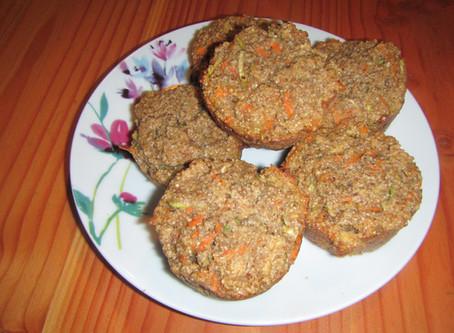 Carrot and Zucchini Muffin
