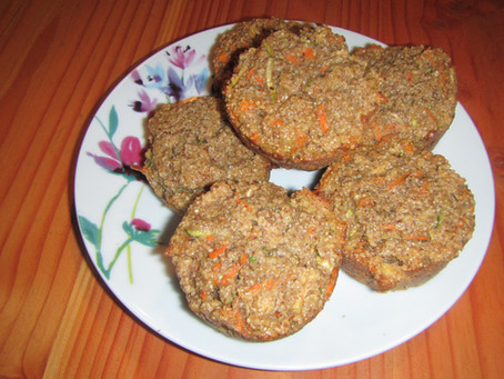 Carrot and Zucchini Muffin