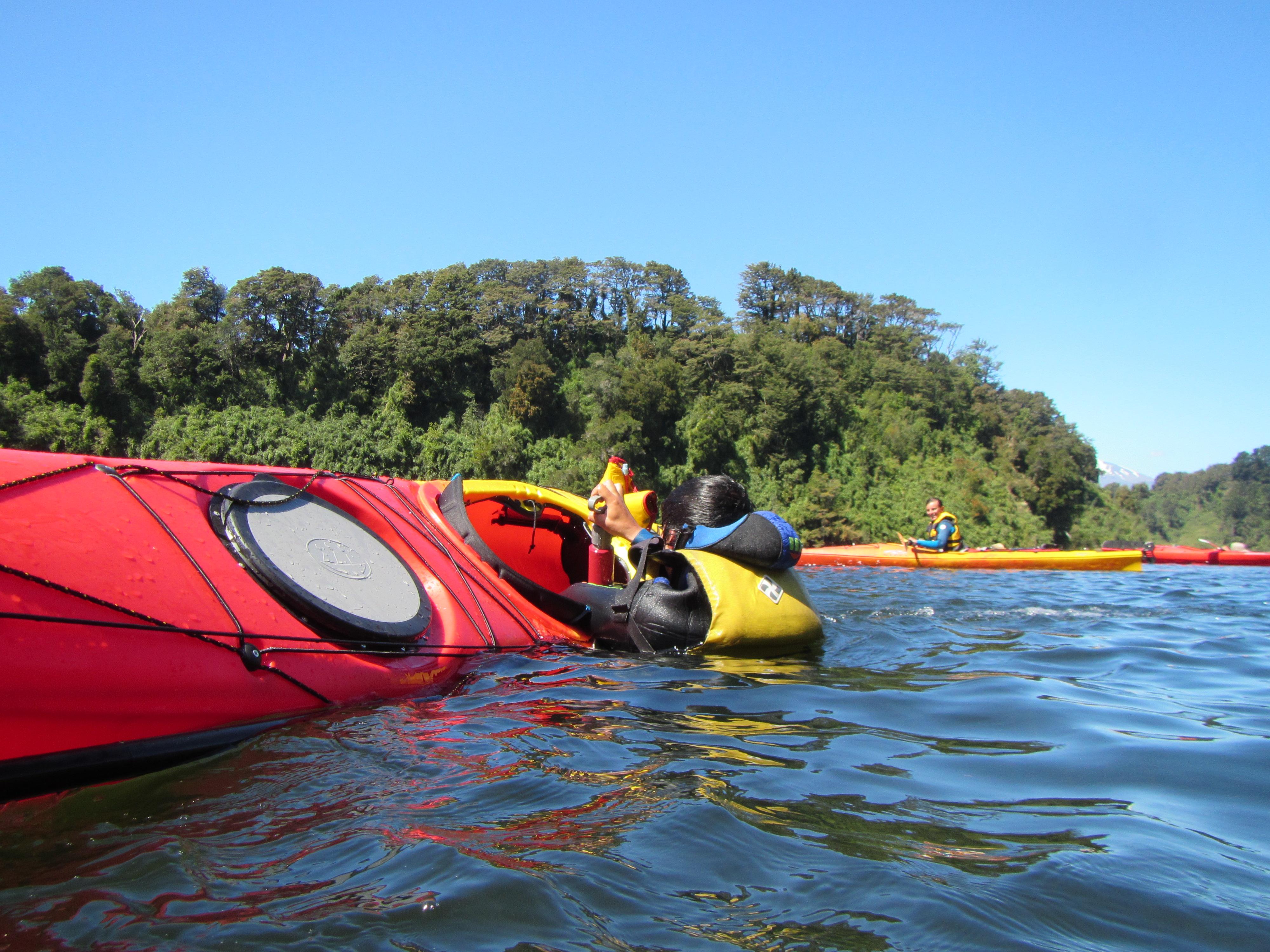 Curso kayak de mar Puerto Varas