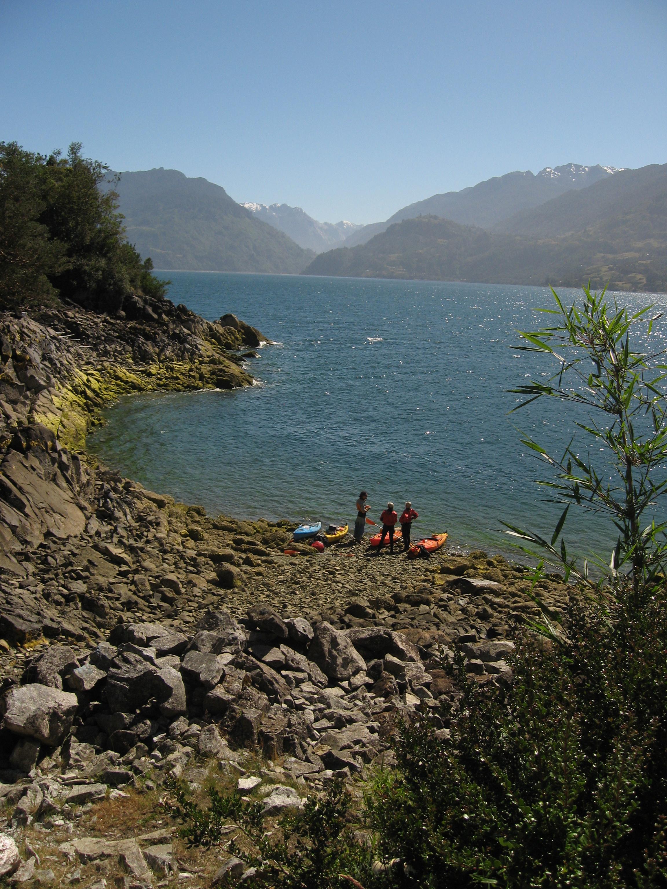 Kayak Fjordo Reloncavi