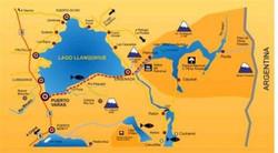 Mappa Los Lagos
