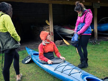 Curso de Kayak de Mar en Puerto Varas