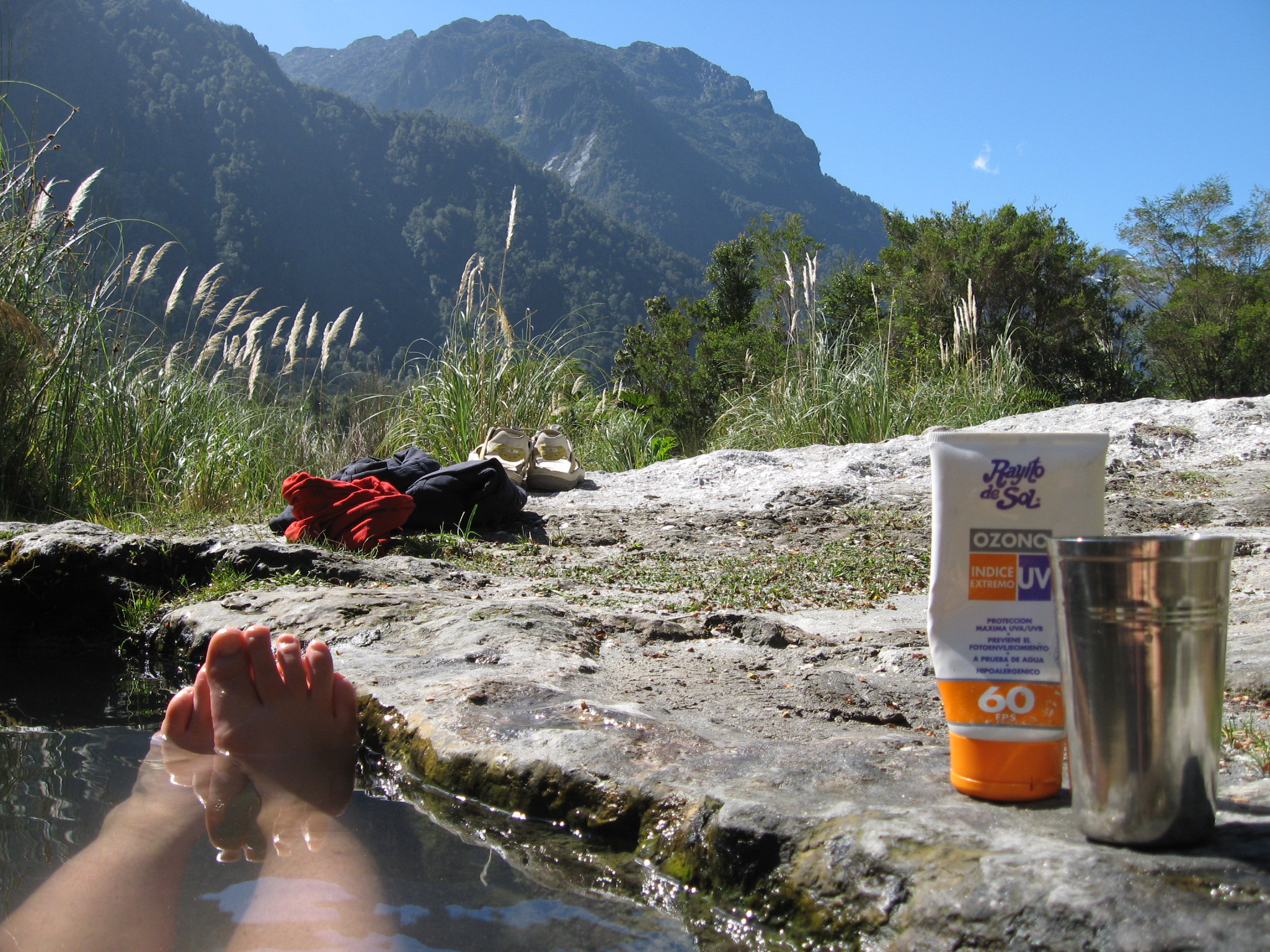 Natural Hot Spring Tourism Patagonia Chile